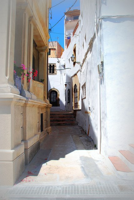 Gorgeous small streets of old Catalonia